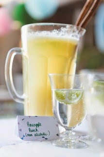 GOOD LOOKS - Buttons and Bows Baby Shower Drinks