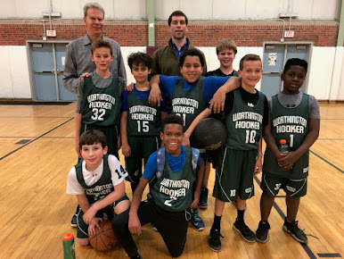 WHBA Grades 5-6 Team in City League, 2018-19