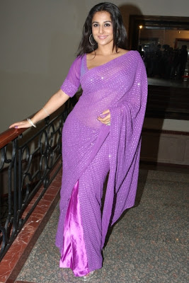 Vidya Balan Hot Photoshoot in Saree Pics