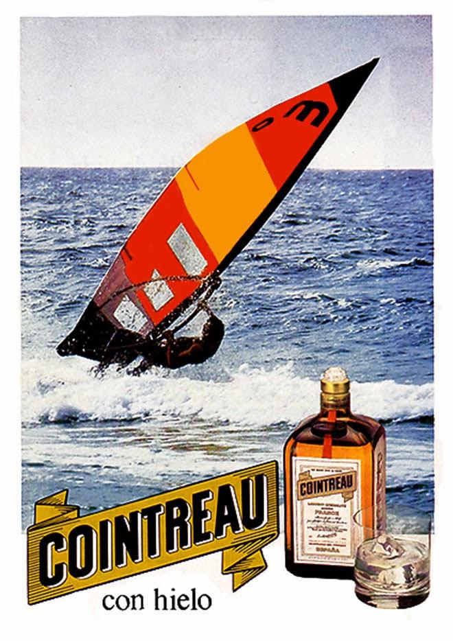 Cointreau Publicidad de los años 80