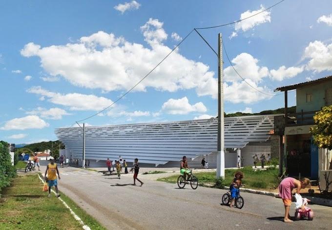 Empresa suíça garante construção de ginásio de esportes em escola estadual de Mãe Luiza