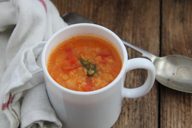 Zupa z soczewicy lekko orientalna i pikantna
