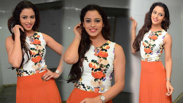 Actress Ravneet Kaur Latest Photos At Sitara Audio Launch