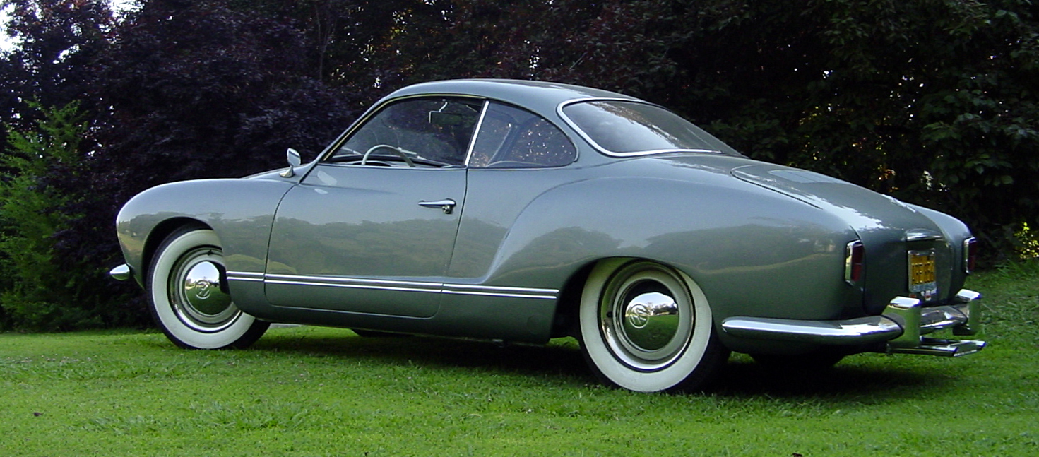 Just A Car Guy 1956 Karmann Ghia Lowlight Coupe Id Never Heard Of 1950 Volkswagen The Before Good Looking