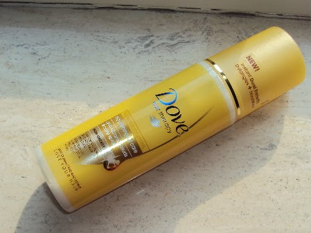 Dove nourishing oil care anti-klit spray.