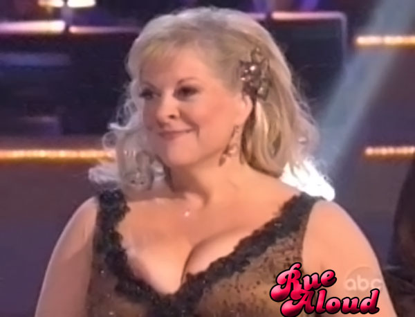 Nancy Grace Has Nip Slip on Dancing with the Stars