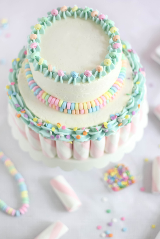 How To Decorate Marshmallow Fondant Cakes