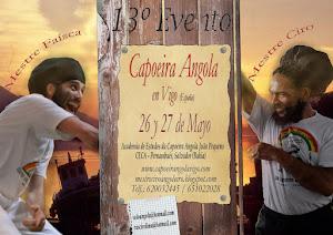 13º EVENTO DE CAPOEIRA ANGOLA CON EL MESTRE CIRO Y MESTRE FAISCA