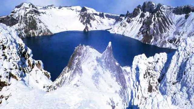 Paektu Mountain, Changbai Range