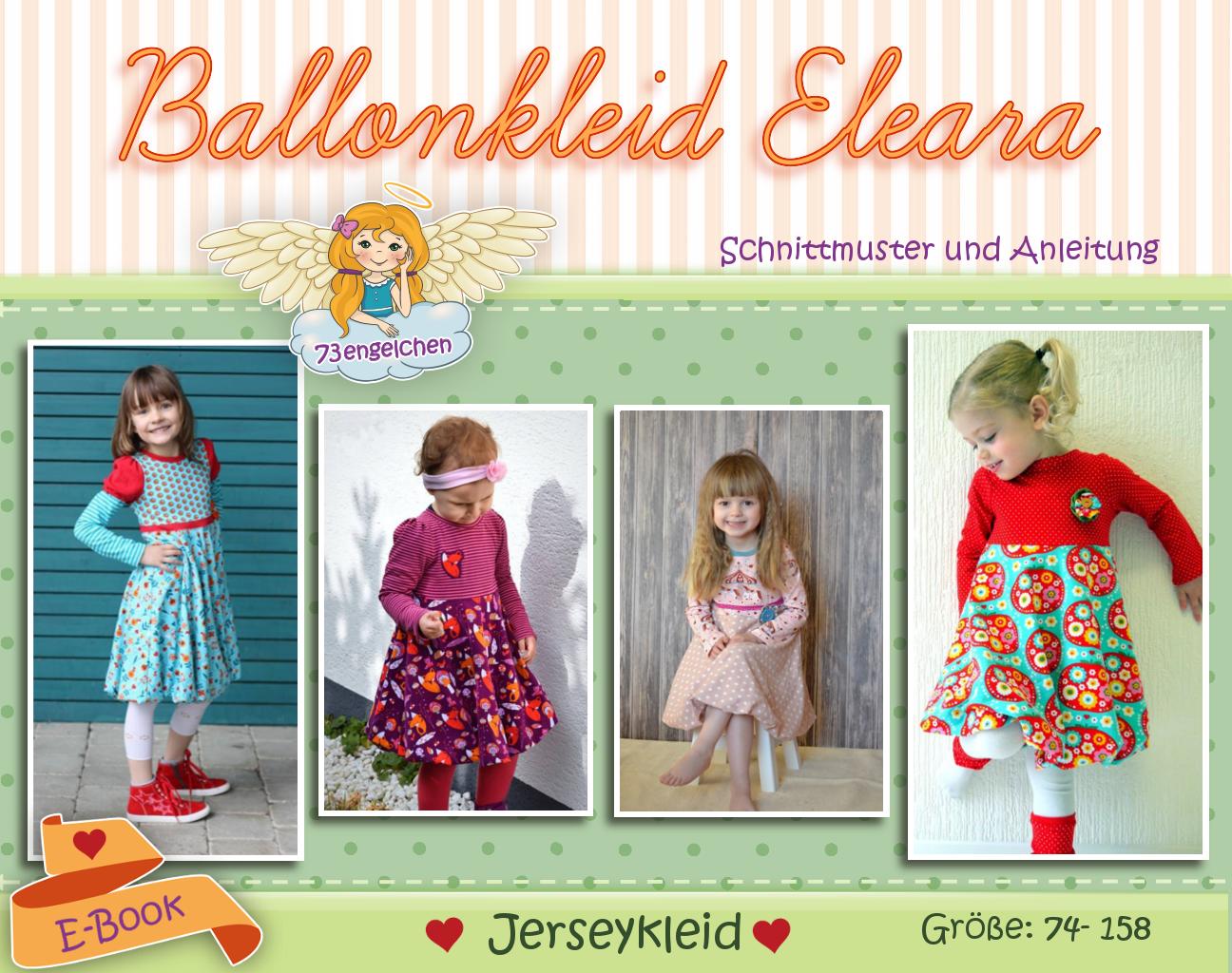 Ballonkleid Eleara - Jersey Variante