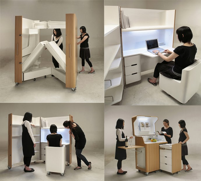 Information Hub Of Besties.: Space Saving Fold Able Furniture