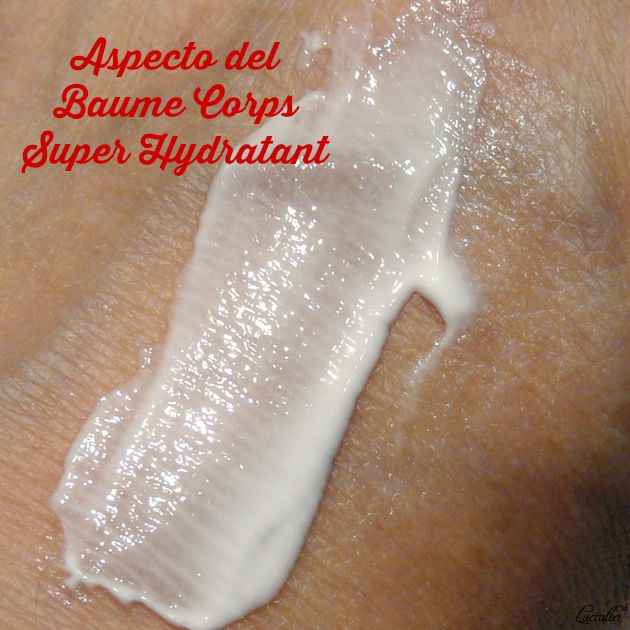 Baume Corps Super Hydratant de Clarins swatch