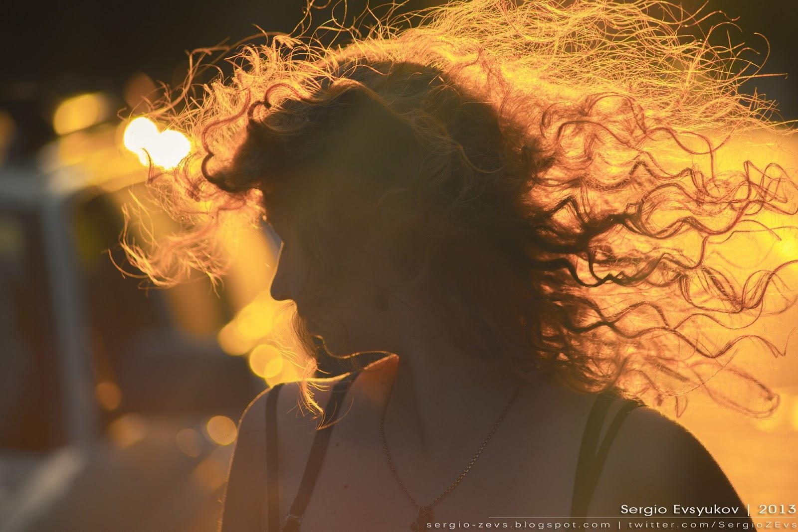 Фотосессия на солнце