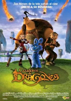 Cazadores de dragones (DvdRip, Castellano, Animación, 2008)