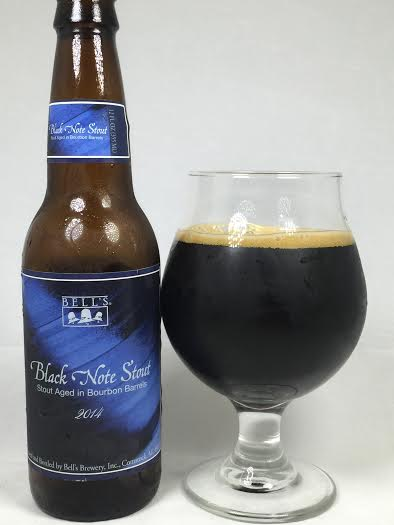Black Note Stout >> Threw Red Butter S Beer Reviews Bell S Black Note Stout 2014 Vintage