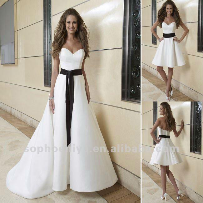 mujeres con belleza y algo más: los vestidos de novia más originales