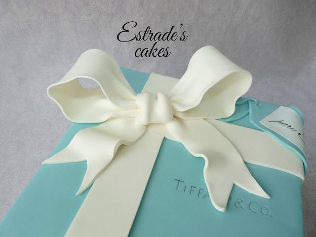 tarta caja de Tiffany 4