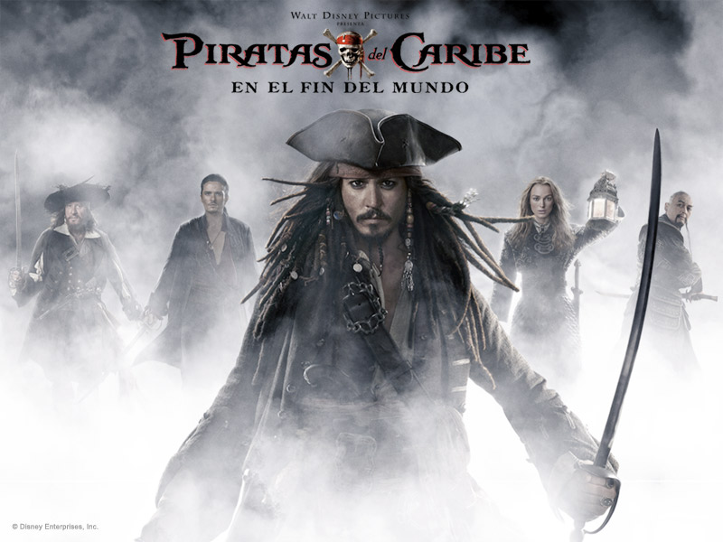 Descargar Pelicula : Piratas del Caribe 3 (2007) Audio Latino, BRRip 1080p Full HD, 3 GB (Gratis)