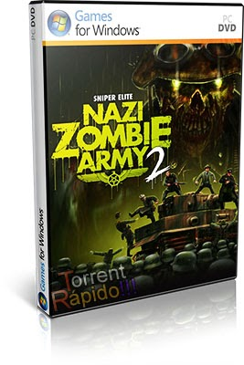 Download Capa 3D Game Sniper Elite: Nazi Zombie Army 2 PC