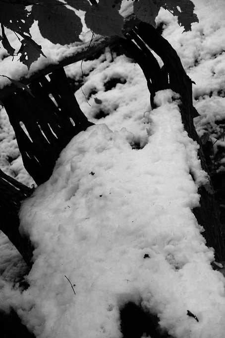 photo, bonhomme de neige, snowman, © dominique houcmant