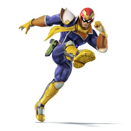 captain falcon super smash bros