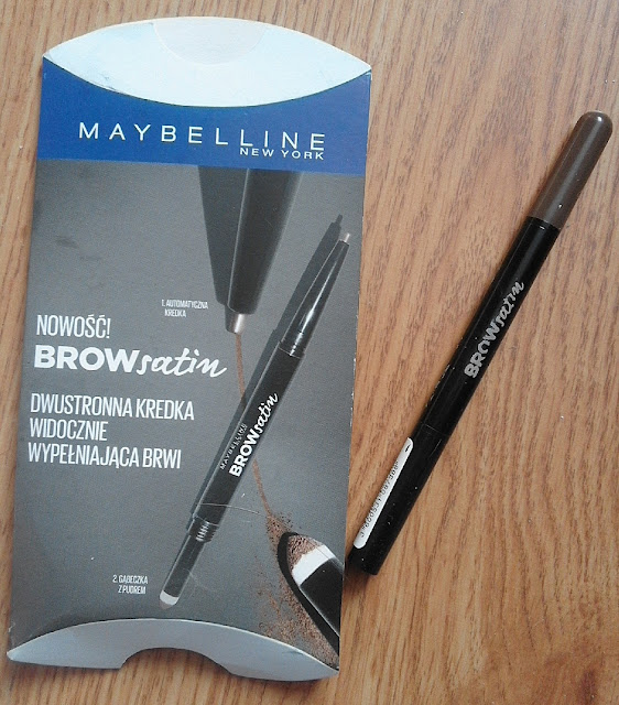 Maybelline Brow Satin dwustronna kredka do brwi ;)
