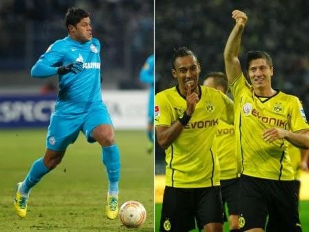 Prediksi Bola Zenit vs Borussia Dortmund 26 Februari 2014