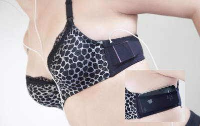 JoeyBra-bikini an iPhone holder