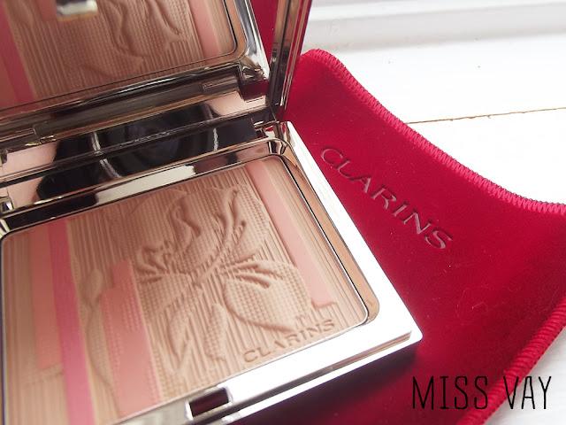 Clarins Rouge Éclat Palette Éclat poudre teint blush printemps 2013