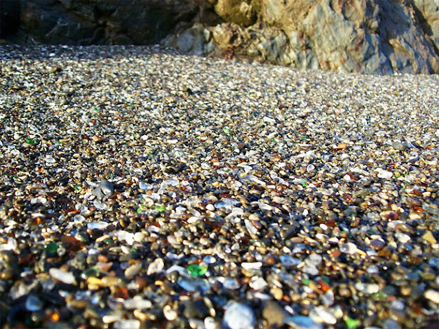 Glass Beach near Fort Bragg California