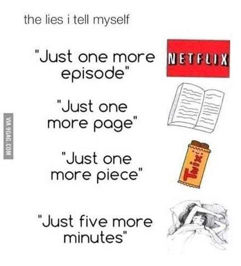 the lies i tell myself