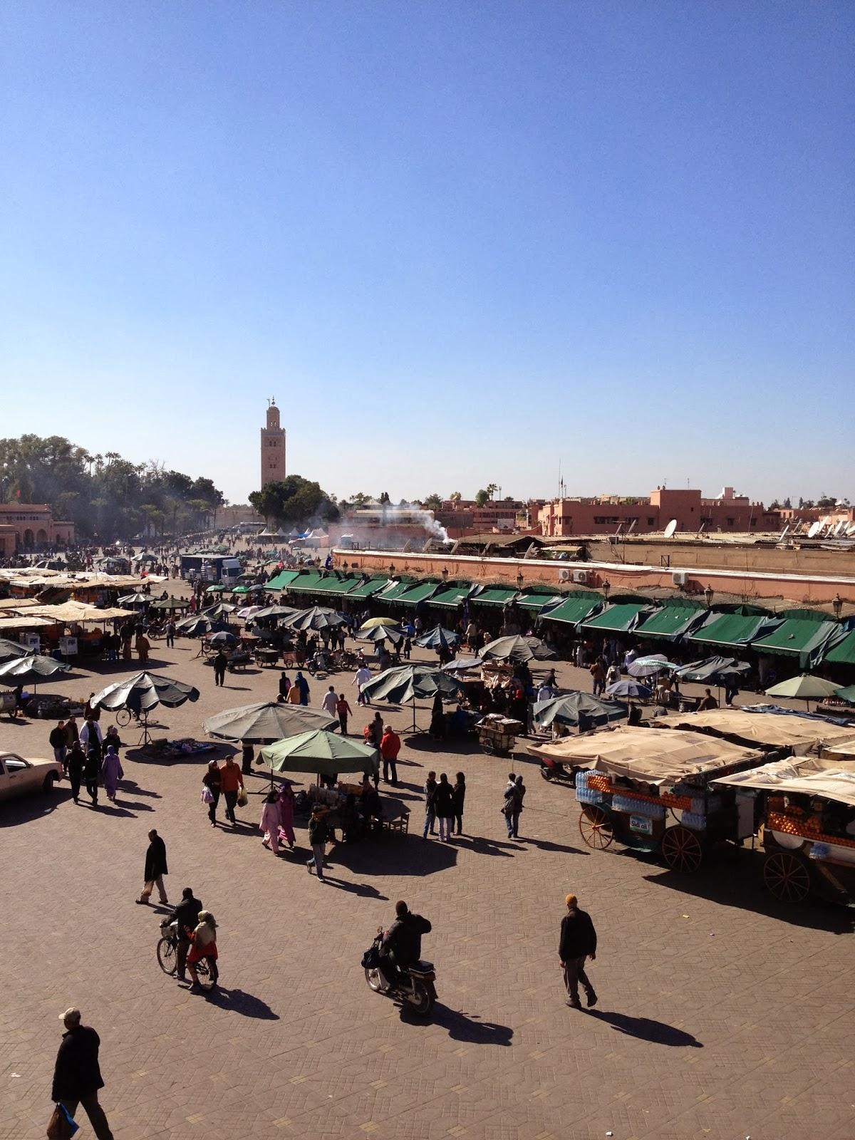 Klockan elva: en resa till marrakech
