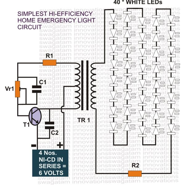 simple hobby electronic circuits ~ electronic circuit projects, Wiring diagram