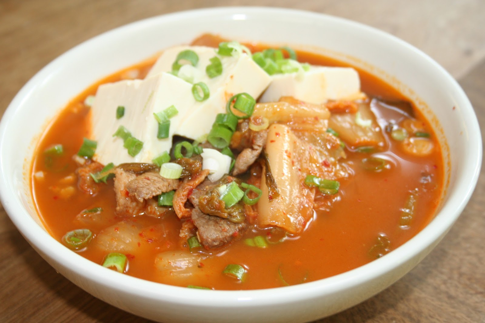 Kimchi Stew With Chicken And Tofu Recipes — Dishmaps