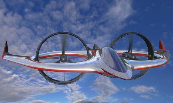 Project Zero UAV Aneh dari AgustaWesland