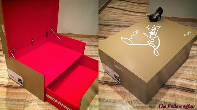 The Follow Affair: Christian Louboutin Giant Shoe Box