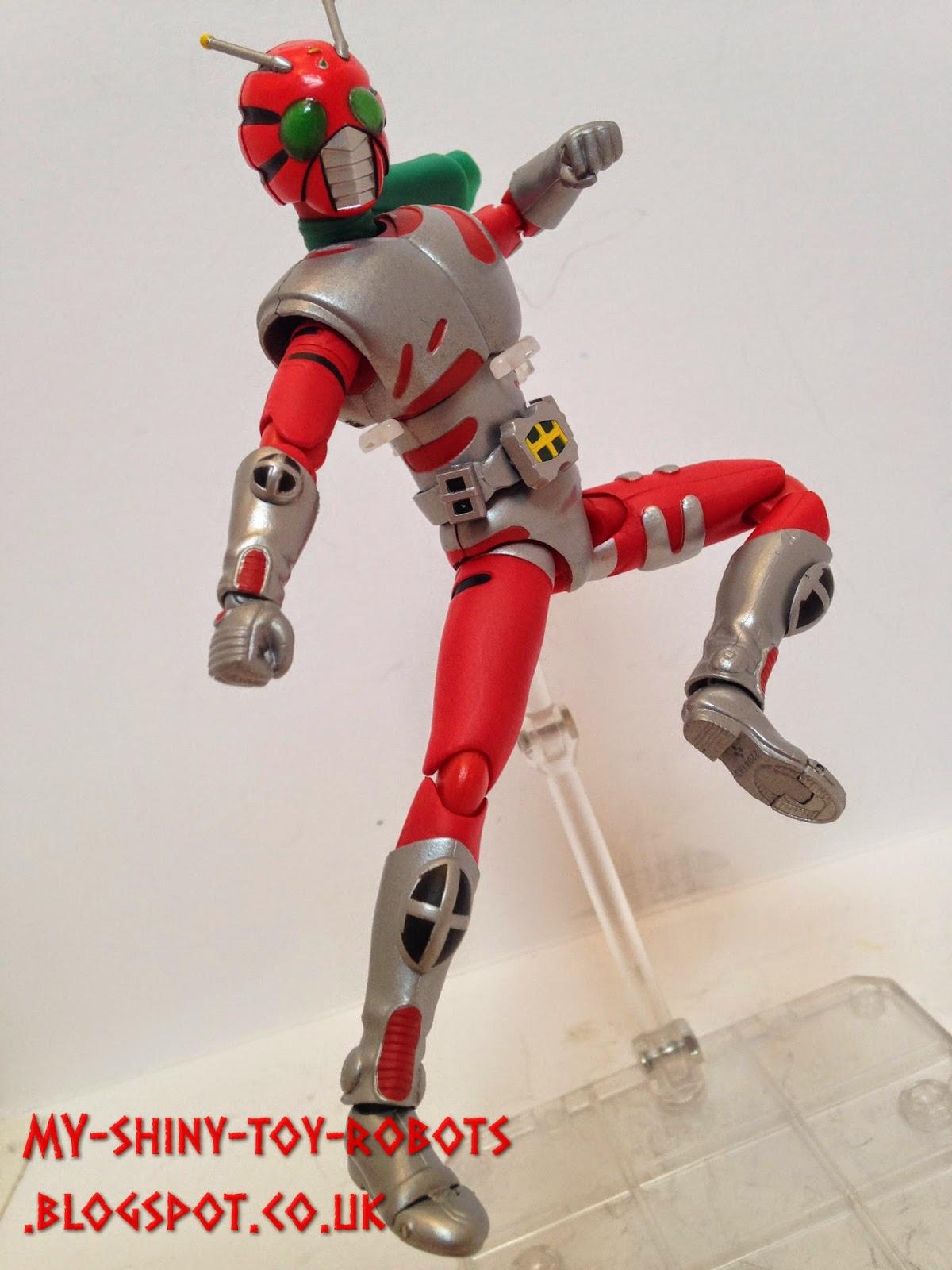 Obligatory rider kick!