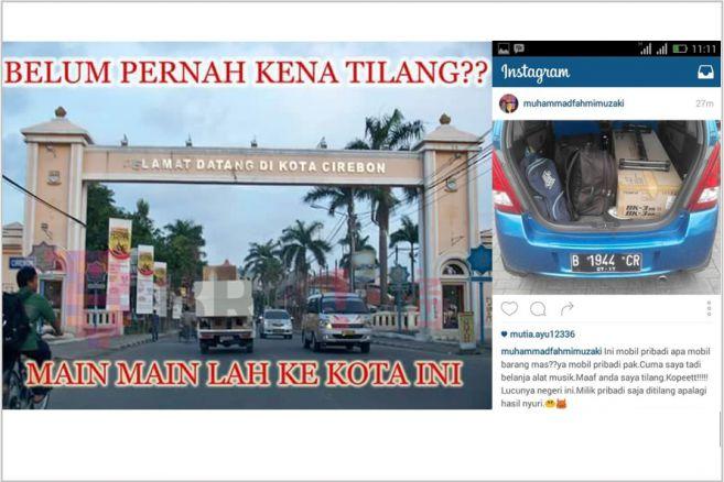 Meme Cirebon Kota Tilang