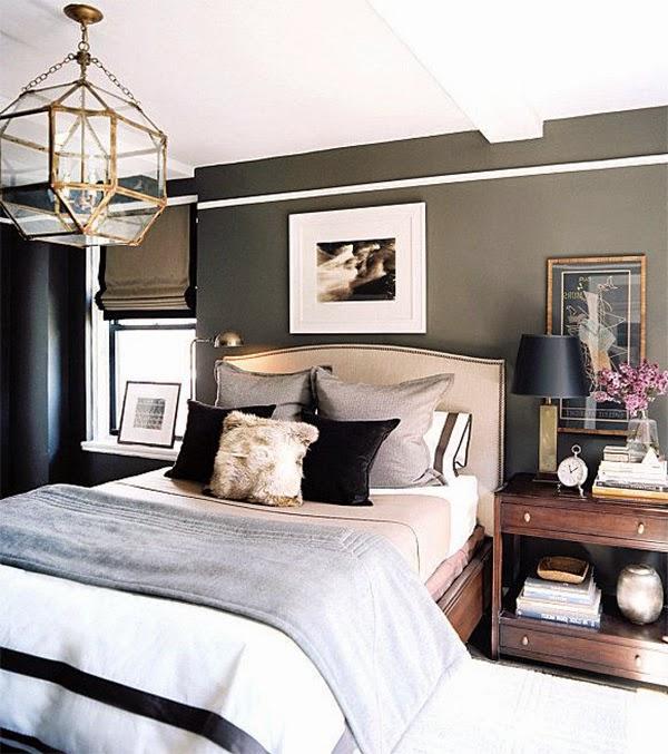 Masculine Bedroom Interior Design Ideas