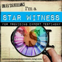 STAR WITNESS BADGE