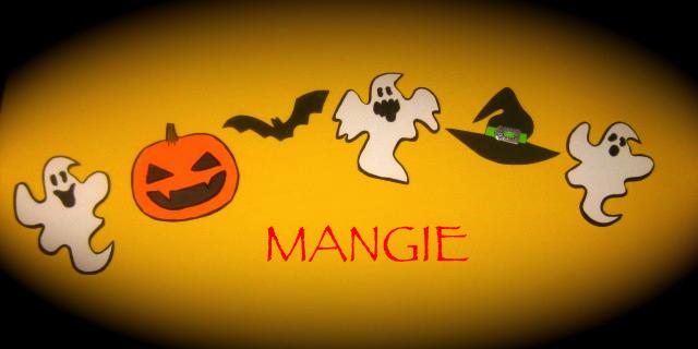 Guirnalda Halloween goma eva