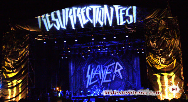 Slayer en Resurrection Fest 2013