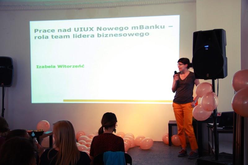 urodzinowe spotkanie Geek Girls Carrots Łódź, kobieta, wystapienie, mBank, UIUX