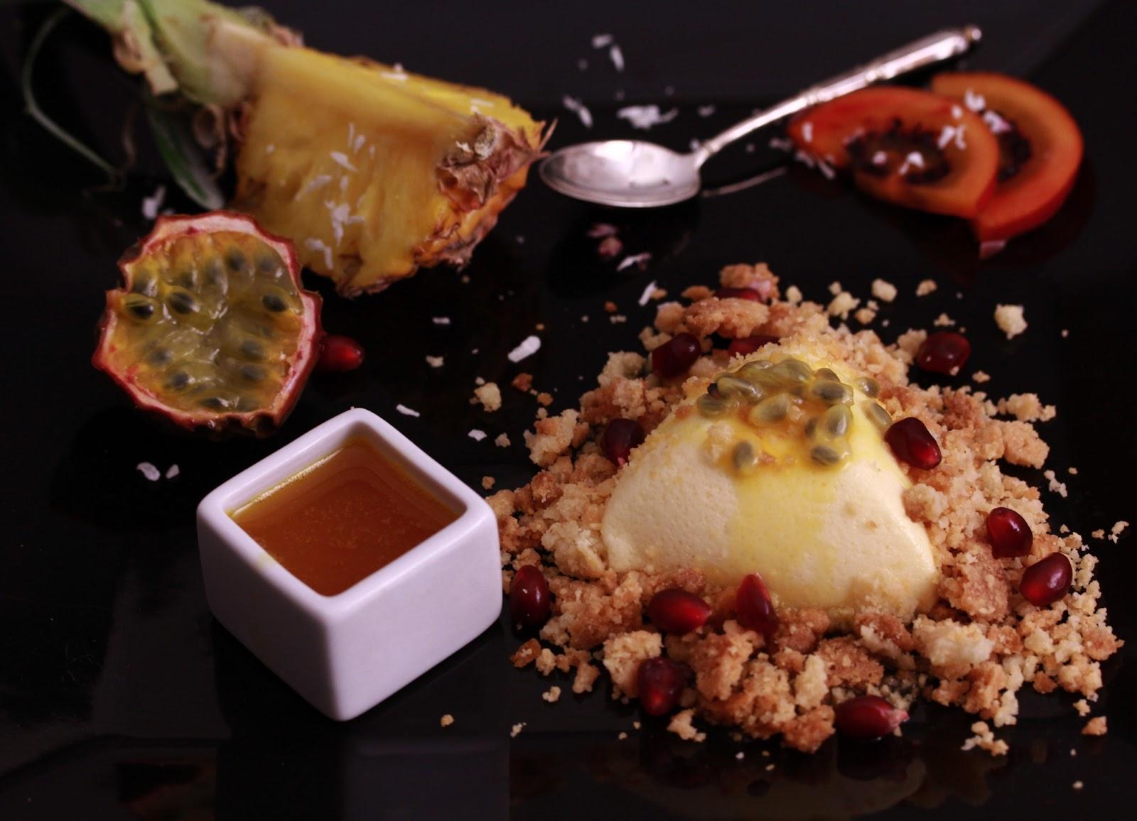 On dine chez nanou cheesecake destructur aux fruits de la passion - Cheesecake fruit de la passion ...