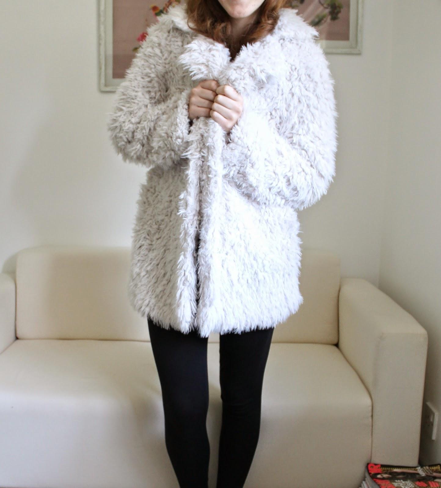 Fluffy Primark Coat