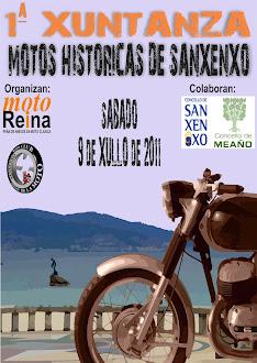 1ª XUNTANZA MOTOS HISTORICAS DE SANXENXO