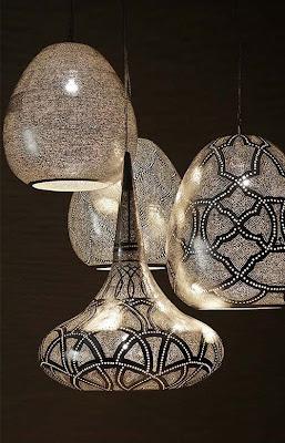 lámparas egipcias colgantes