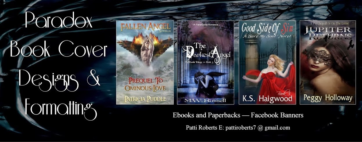 My Book Cover Artist is Paradox Book Cover Designs