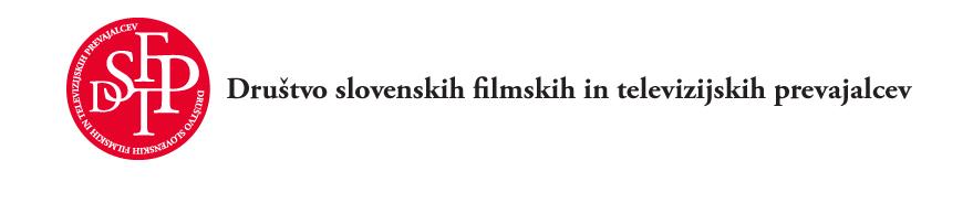 Drustvo slovenskih filmskih in televizijskih prevajalcev