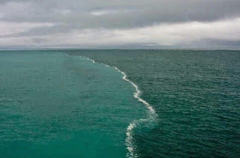 Kebenaran Al-Quran Tentang Dua Lautan Yang Tidak Bercampur
